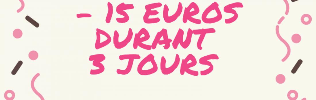 -15€ sur la consultation thème de numérologie