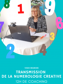 Transmission Numérologie en individuel – 6 modules de 2h